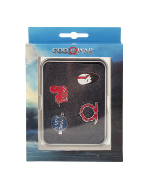 Set van God of War of Norse Wrath insignes