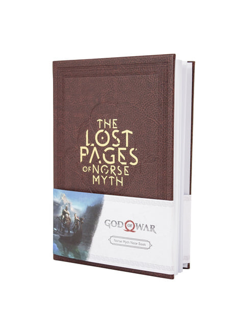 Caderno de God of War The Lost Pages Of Norse Myth