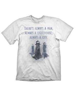 "Bioshock ""There's Always a Man"" -T-paita Miehille"