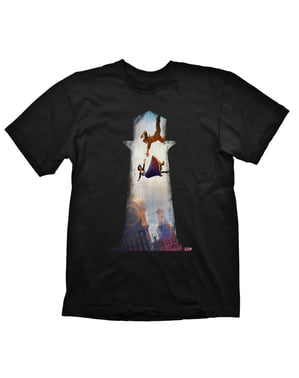 Maglietta di Elizabeth e Booker per uomo - Bioshock