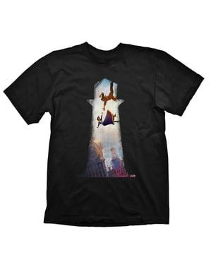 Tricou Elizabeth și Booker pentru bărbat - Bioshock