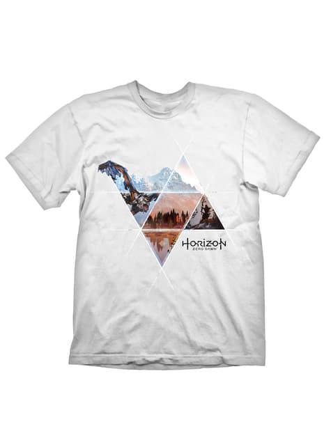 T-shirt de Horizon Zero Dawn branca para homem