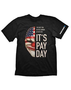 ダラス「それは給料日です」男性用Tシャツ - 給料日2