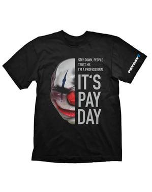 """男性用チェーン """"Is Pay Pay"""" Tシャツ -  Payday 2"""