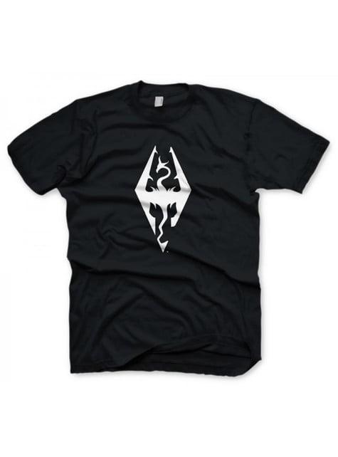 Camiseta de The Elder Scrolls símbolo de dragón para hombre