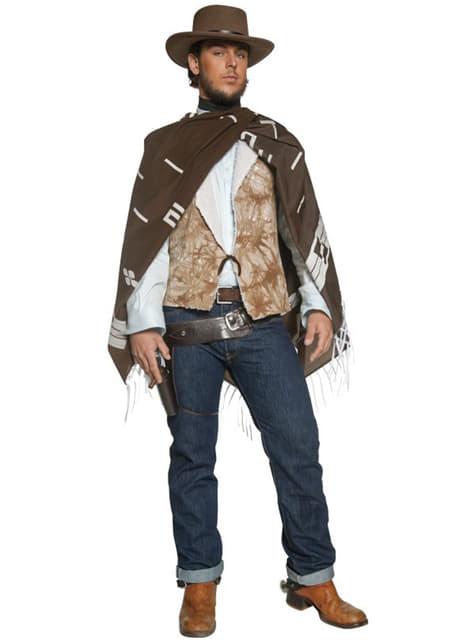 Disfraz de forajido errante del Oeste - hombre