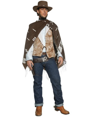 Gesetzesflüchtiger Cowboy des Westen Kostüm