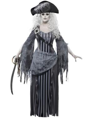 Geister-Piratin Kostüm für Damen