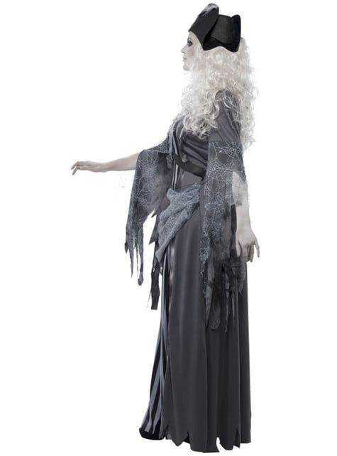 Ghost Pirate Costume for Women
