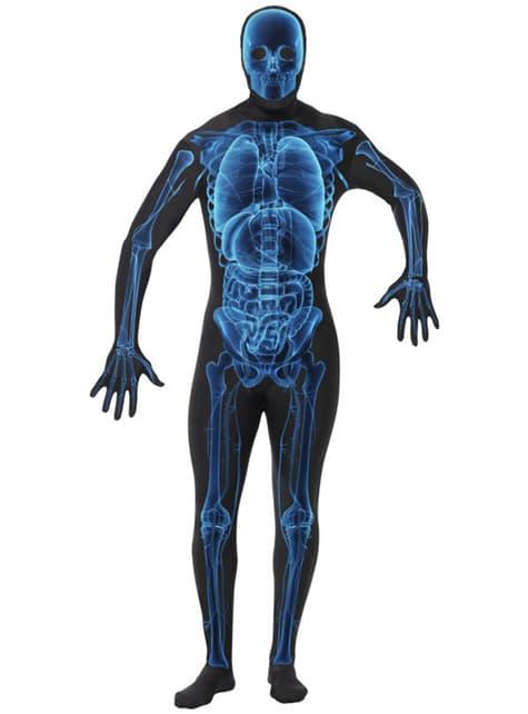 Втора кожна X-Ray Възрастен костюм