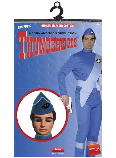 Kostým pre dospelých Scott Thunderbirds