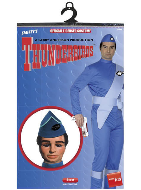 Скот Thunderbirds Възрастен костюм