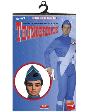 Fato de Scott de Thunderbirds