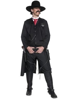 Western Sheriff Kostyme Voksen
