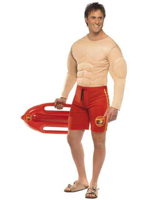 Disfraz de socorrista musculoso - hombre