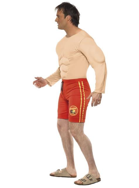 Disfraz de socorrista musculoso - traje