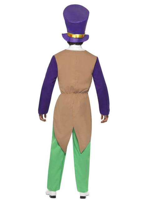 Disfraz de sombrerero divertido - hombre