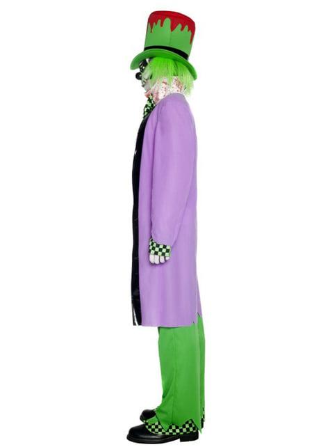 Kostým pro dospělé zlovolný kloboučník
