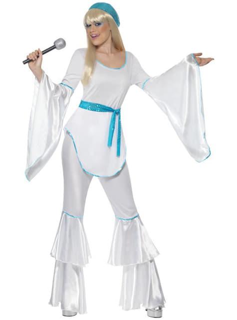 Abba kostuum jaren 70 voor vrouwen