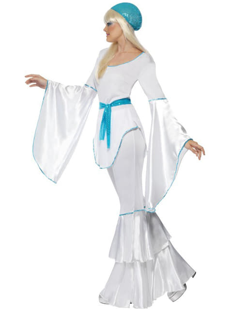 Abba Kostüm Super Trouper für Damen