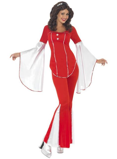 Kostým pre dospelých červený Super Trooper