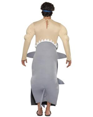 Fato de tubarão devorador de homens