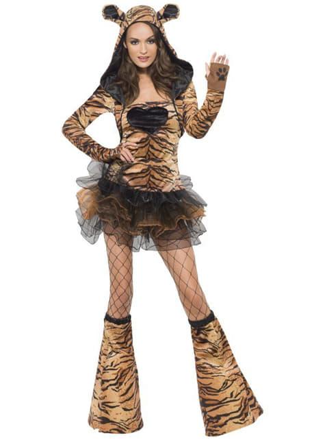 Sexig Tiger Fever Maskeraddräkt