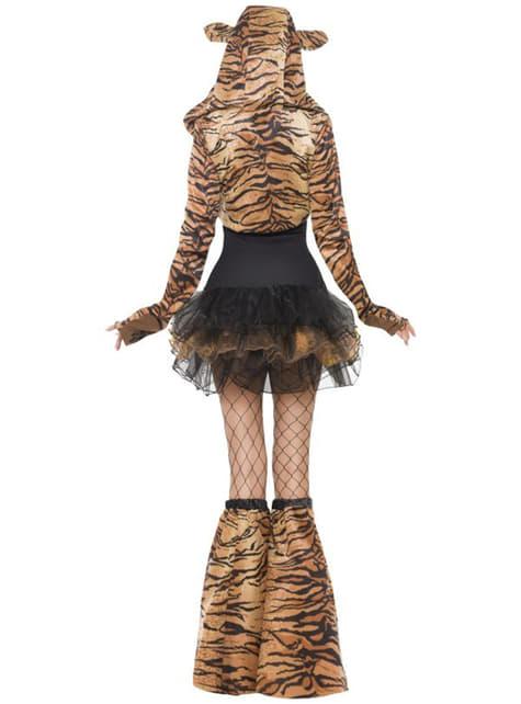 Sexy Tiger Fever Kostyme Voksen