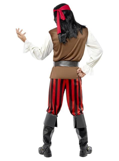 Disfraz de tripulante de barco pirata - hombre