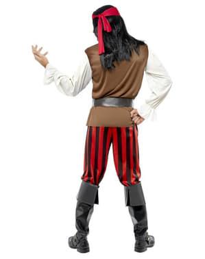 Costum de tripulant de barcă pirat