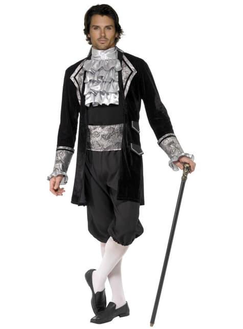 Sexy Barock Vampir Kostüm Fever