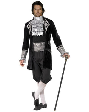 Sexy Barokk Vampyr Kostyme Voksen