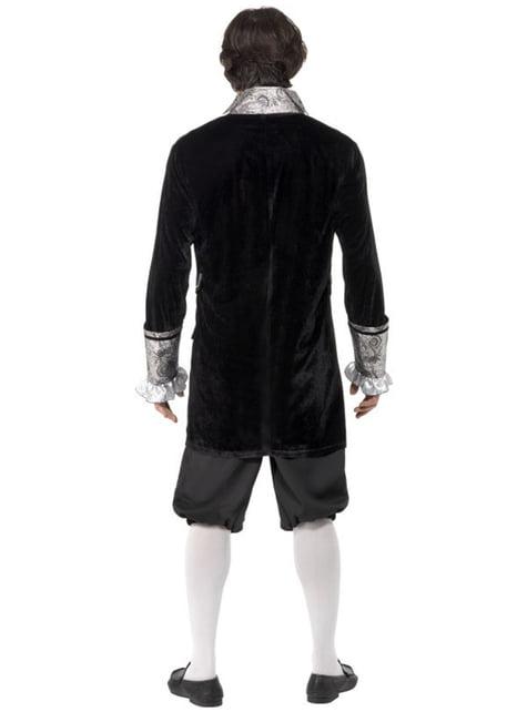 Disfraz de vampiro barroco sexy Fever - hombre