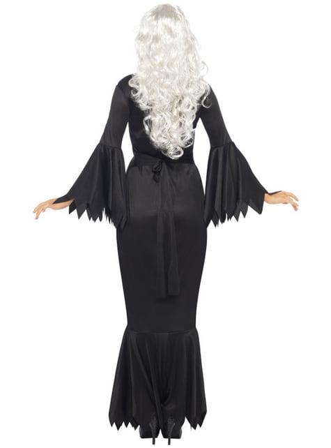 Disfraz de vampiresa de media noche - mujer