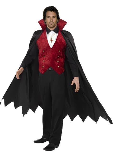 Fato de vampiro elegante