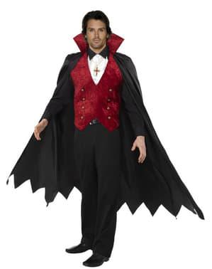 Elegant vampyr Maskeraddräkt