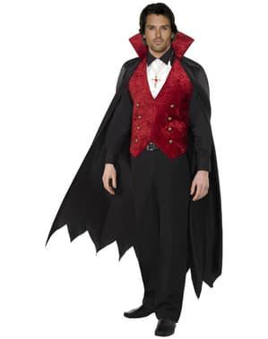 Upírsky kostým pre dospelých