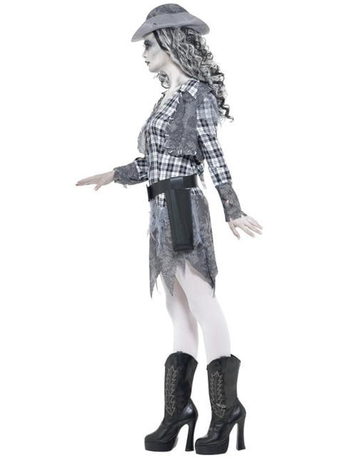 Ghost Cowgirl Adult Costume