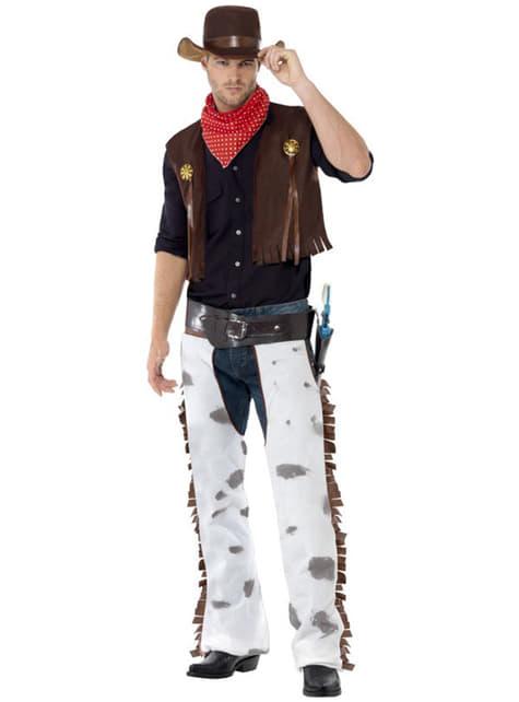 Kostým pre dospelých farmár na divokom západe