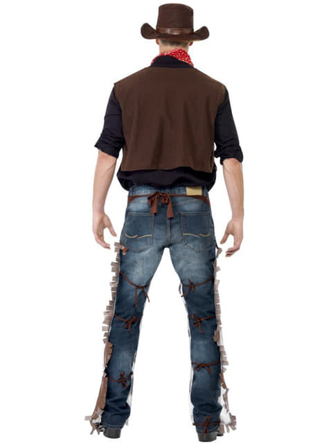 Disfraz de vaquero del Oeste - hombre