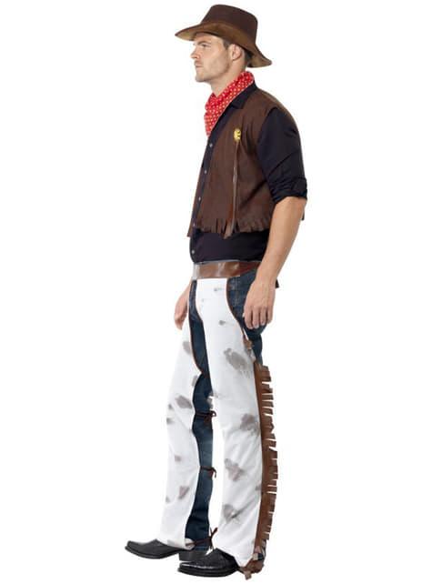 Disfraz de vaquero del Oeste - original
