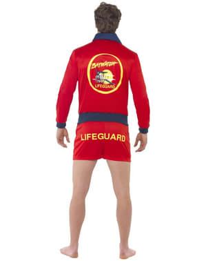 Rødt Livredder Kostume til Mænd - Baywatch