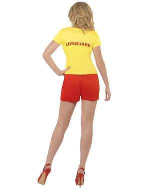 Disfraz de vigilante de la playa para mujer