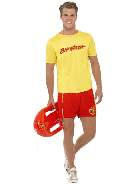 Baywatch Kostüm Retungsschwimmer gelb