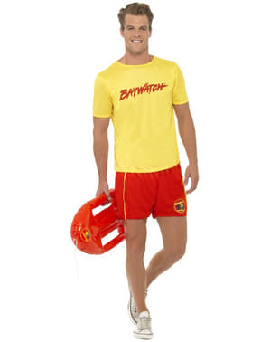 Lifeguard Costume For Men - Baywatch