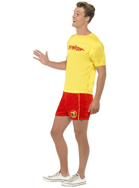 Lifeguard Costume For Men - Baywatch