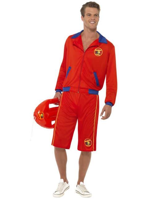 Strand-Rettungsschwimmer Kostüm für Herren - Baywatch - Die Rettungsschwimmer von Malibu