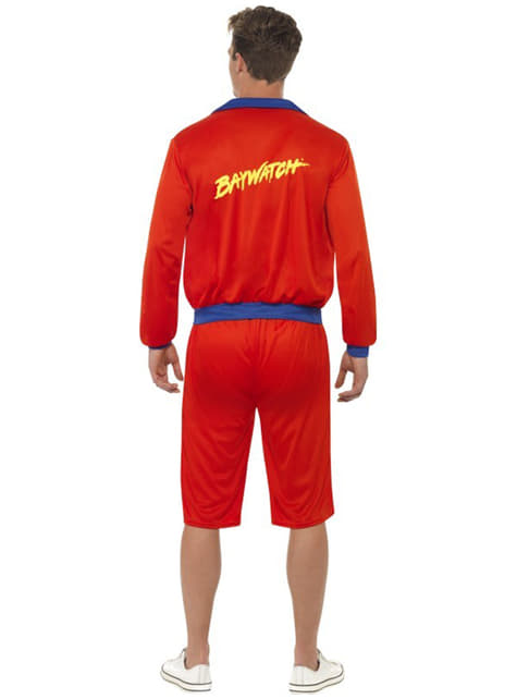 Beach Lifeguard Costume For Men - Baywatch