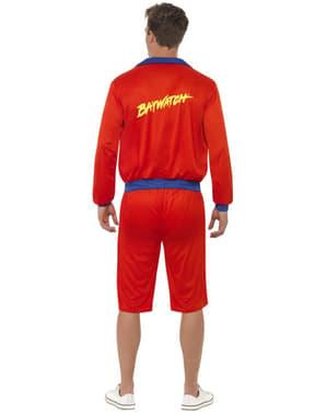 Beach Lifeguard Costume For Men - Baywatch
