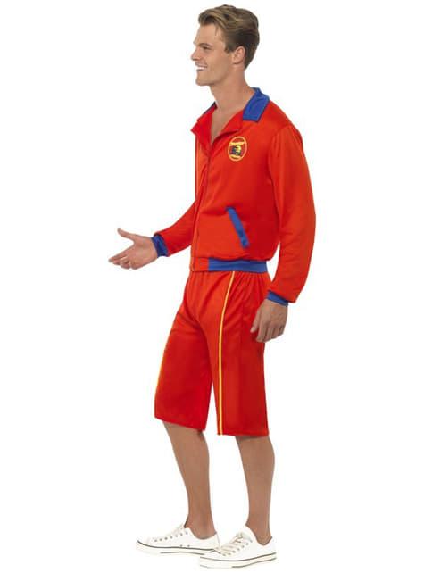 Disfraz de vigilante de la playa - original